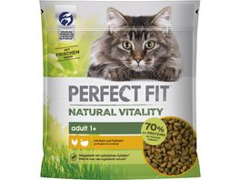 PERFECT FIT Katze Beutel Natural Vitality Adult 1 mit Huhn und Truthahn