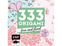 333 Origami fein und floral