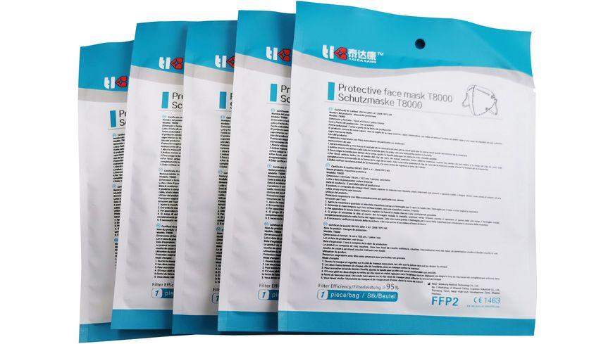 TAIDAKANG FFP2 Masken 5er Pack
