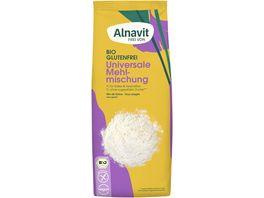 ALNAVIT Bio Universal Mehlmischung glutenfrei