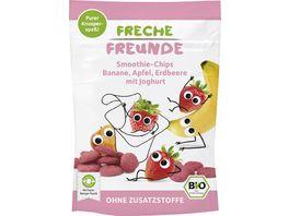 Freche Freunde Bio Smoothie Chips Banane Apfel Erdbeere mit Joghurt