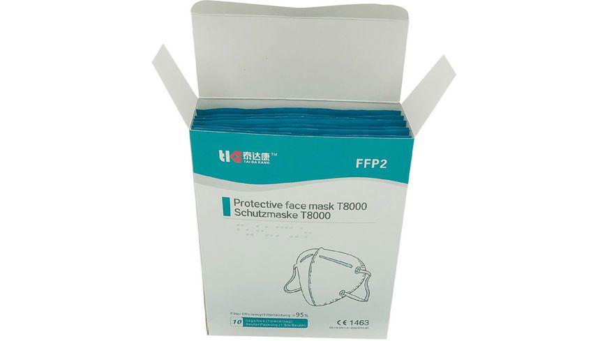TAIDAKANG FFP2 Masken 10er BOX weiss