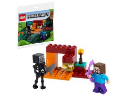 LEGO Minecraft 30331 Das Nether Duell