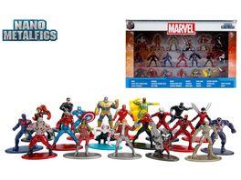 Jada Nano Metalfigs Marvel 20 Pack