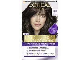 Excellence Cool Creme 4 11 Ultra kuehles Mittelbraun