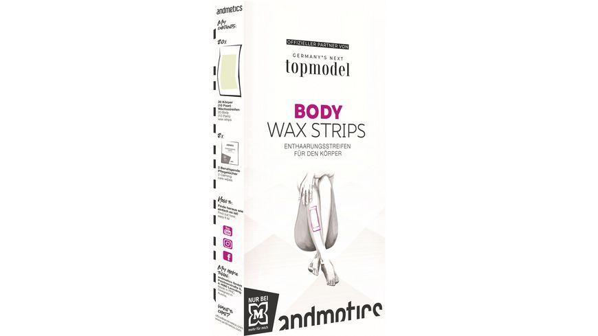 andmetics GNTM  Body Wax Strips