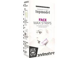 andmetics GNTM Face Wax Strips