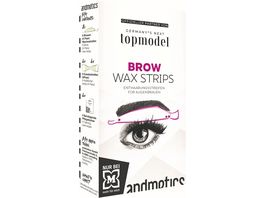 GNTM Brow Wax Strips Woman