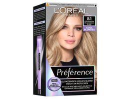 L OREAL PARIS Preference Cool Blondes 8 1 Helles kuehles Blond Kopenhagen