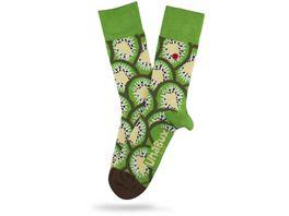 Unabux Unisex Socken Kiwi
