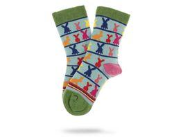 Unabux Unisex Kinder Socken Hasen