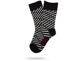 Unabux Unisex Socken Snazzy Comfort Streifen