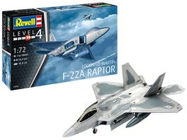 Revell 03858 Lockheed Martin F 22A Raptor Massstab 1 72