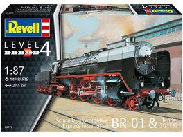 Revell 02172 Schnellzuglok BR01 mit Tender 2 2 T32 Massstab 1 87