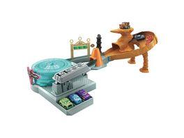 Disney Pixar Cars Mini Racers Radiator Springs Spin Out Spielset