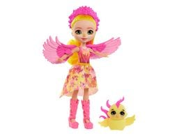 Mattel Enchantimals GYJ04 Royals Falon Phoenix Puppe Sunrise