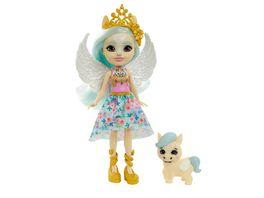 Mattel Enchantimals GYJ03 Royals Paolina Pegasus Puppe Wingley