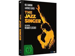 The Jazz Singer Limited Mediabook Blu ray DVD in HD neu abgetastet