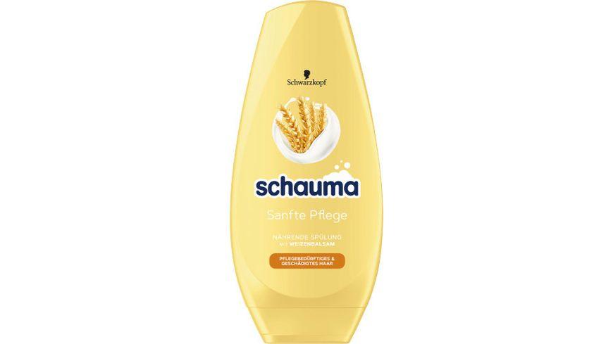 Schauma Spülung Sanfte Pflege, Haarspülung ohne zu beschweren, für spürbare Geschmeidigkeit