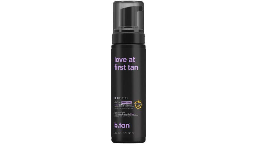 b.tan Selbstbräunungs-Mousse love at first tan