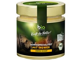 biozentrale Honigspezialitaet mit Ingwer