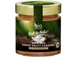 biozentrale Aufstrich Kokos Salty Caramel