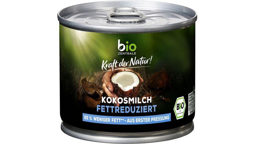 biozentrale Kokosmilch fettreduziert