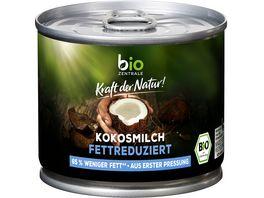 bioz Kokosmilch fettreduziert 200ml
