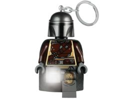 LEGO Star Wars The Mandalorian Schluesselanhaenger mit Taschenlampe 6 cm in Geschenkpackung