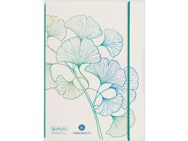 herlitz my book flex Notizbuch A5 40 Blatt punktiert dotted GREENline Welle