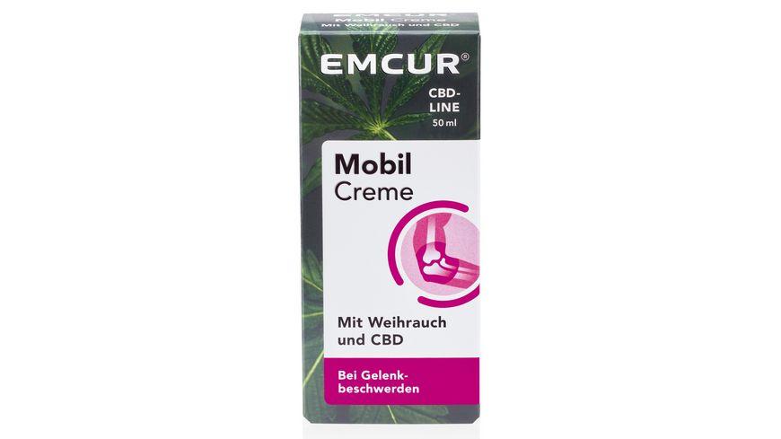 EMCUR mobil Creme mit Weihrauch und CBD