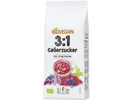 Biovegan Gelierzucker 3 1