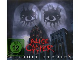 Detroit Stories Ltd CD DVD Digipak