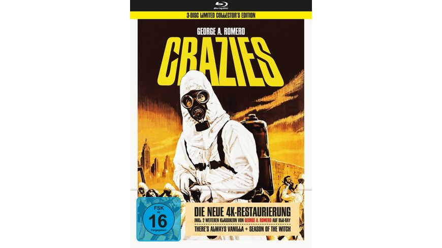 George A. Romero's Crazies (+ Bonusfilme) - 3-Disc Collector's Edition im Mediabook