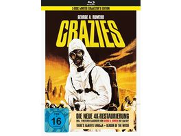 George A Romero s Crazies Bonusfilme 3 Disc Collector s Edition im Mediabook