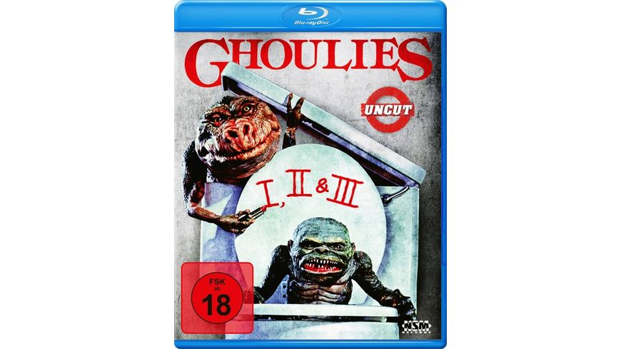 Ghoulies 1-3 (uncut)  [3 BRs]