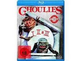Ghoulies 1 3 uncut 3 BRs