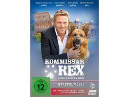 Kommissar Rex Comeback in Rom Staffeln 11 13 Die Fortsetzung der SAT 1 Krimiserie in Rom Fernsehjuwelen 8 DVDs