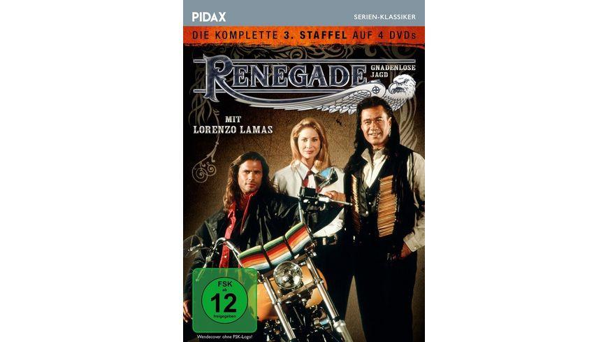 Renegade - Gnadenlose Jagd, Staffel 3 / Weitere 22 Folgen der Kultserie (Pidax Serien-Klassiker)  [4 DVDs]