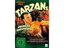 Tarzans neueste Abenteuer DER HERR DER WILDNIS DAS GEHEIMNIS DER GRUeNEN GOeTTIN Fruehe Dschungelabenteuer mit Herman Brix