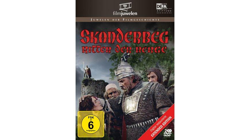 Skanderbeg - Ritter der Berge (Extended Edition) (DEFA Filmjuwelen)  [2 DVDs]