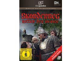 Skanderbeg Ritter der Berge Extended Edition DEFA Filmjuwelen 2 DVDs