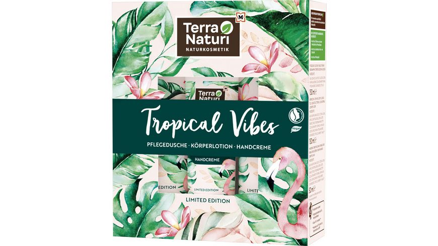 Terra Naturi Geschenkset Tropical Vibes - Pflege mit Kokosduft