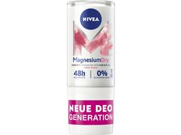 NIVEA MagnesiumDry Fresh Floral Deo Roll On