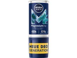 NIVEA MEN Roll On MagnesiumDry