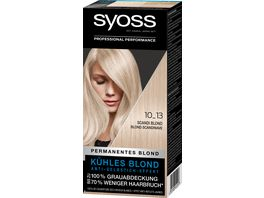 syoss Coloration Scandi Blond 10 13 Stufe 3
