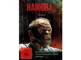Hannibal Lecter Trilogie 3 DVDs