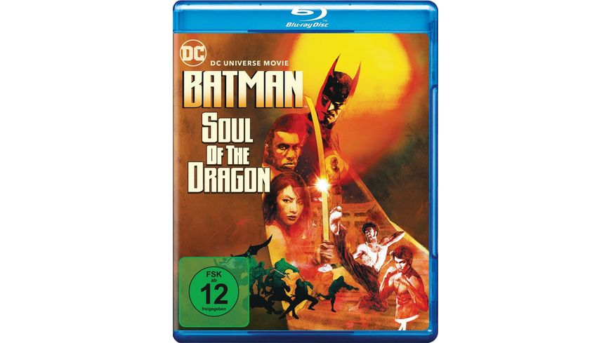 DCU: Batman Soul of the Dragon