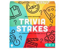 Mattel Games Trivia Stakes Brettspiel Quiz Spiel Gesellschaftsspiel
