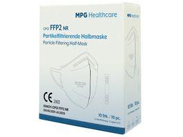 MPG Healthcare FFP2 Filtermaske Standard